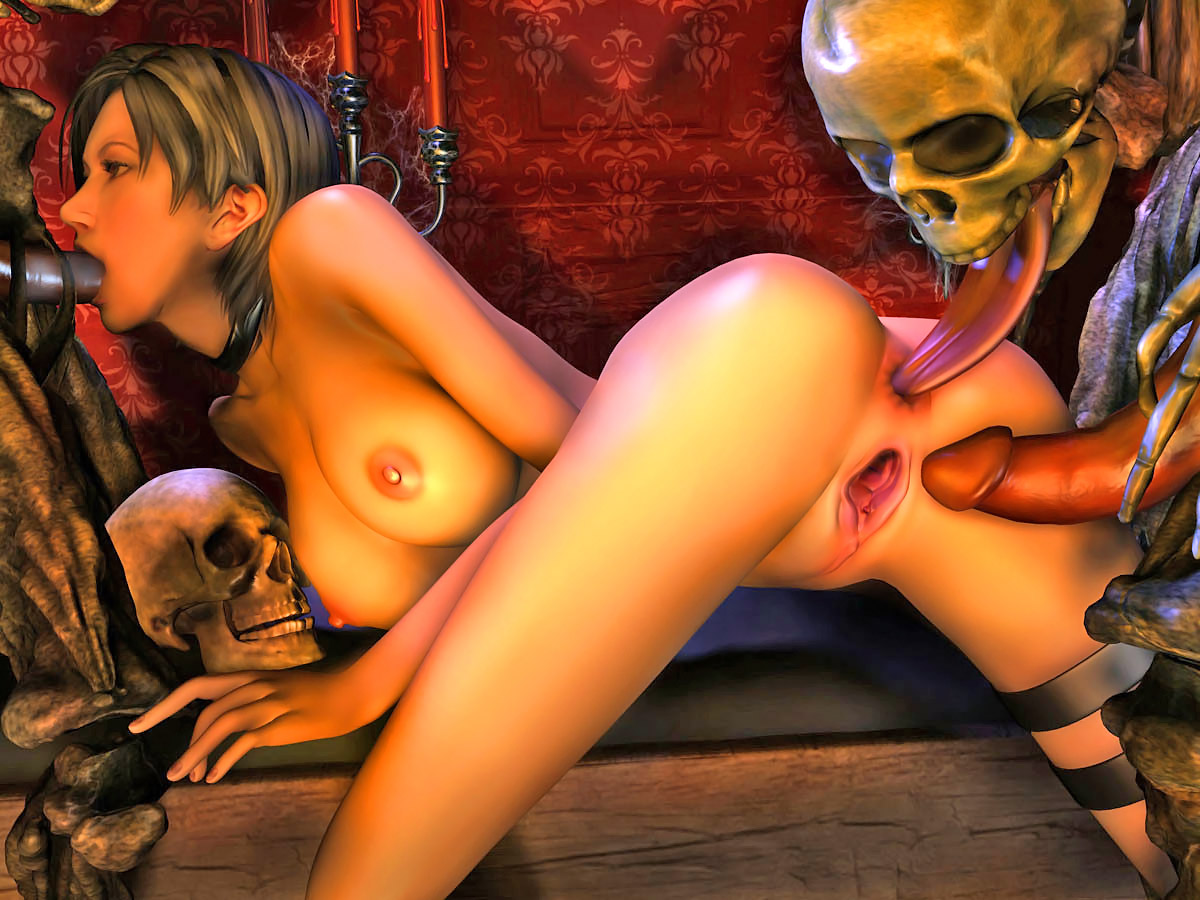 Resident evil toons 3d porn video sex photo