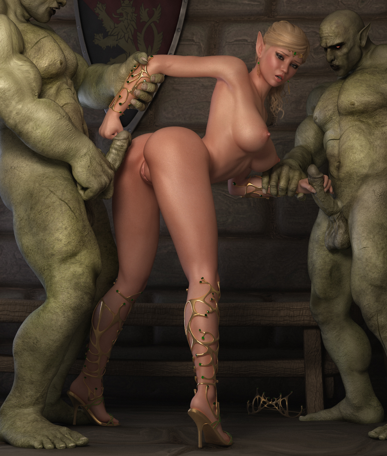 Monsters fucking elf girl porn pics cartoon video