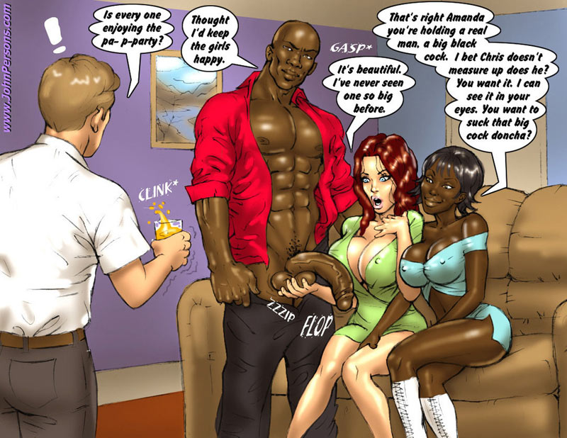 Adult cartoon interracial