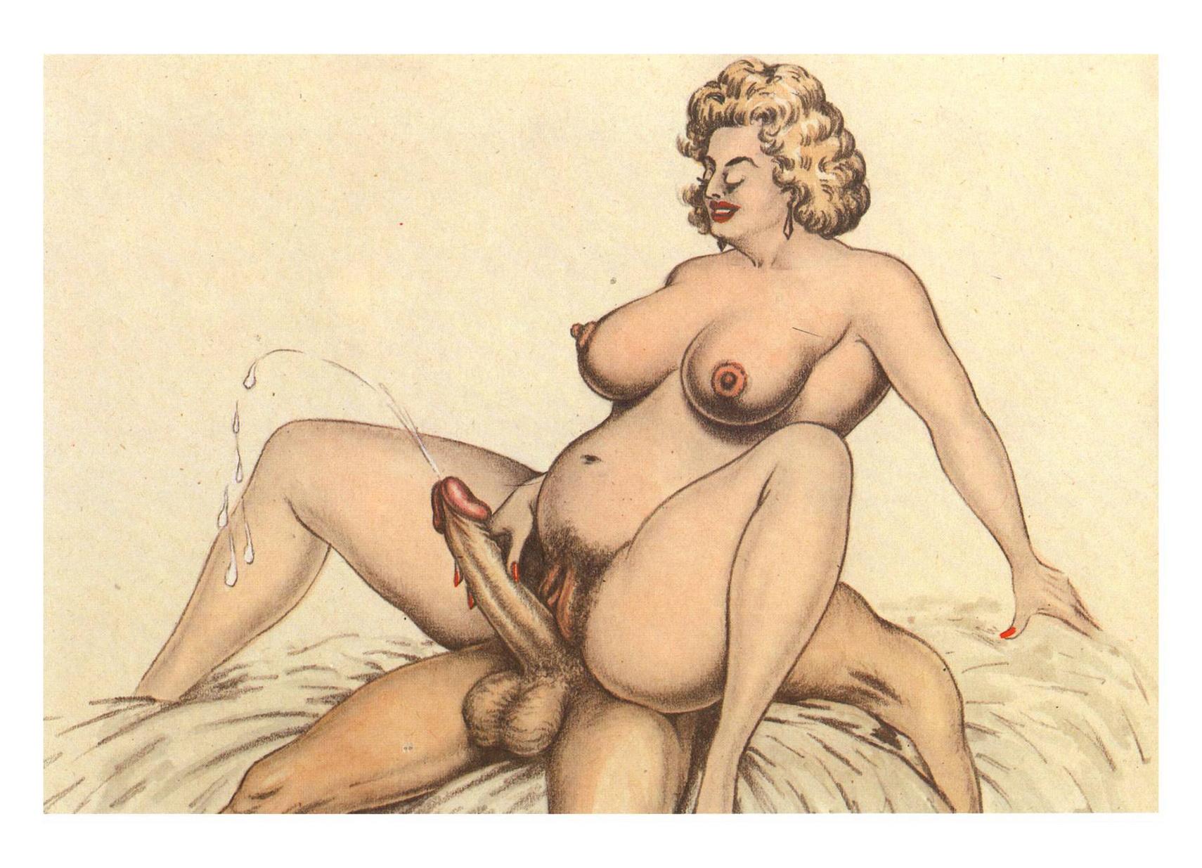 Сайт рисованной эротики