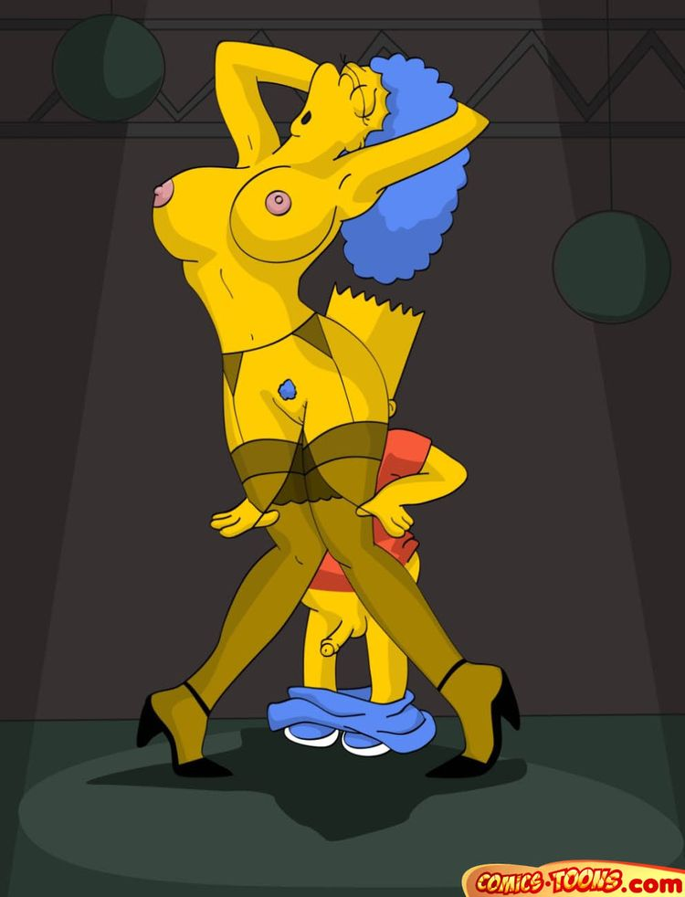 toons Adult simpsons