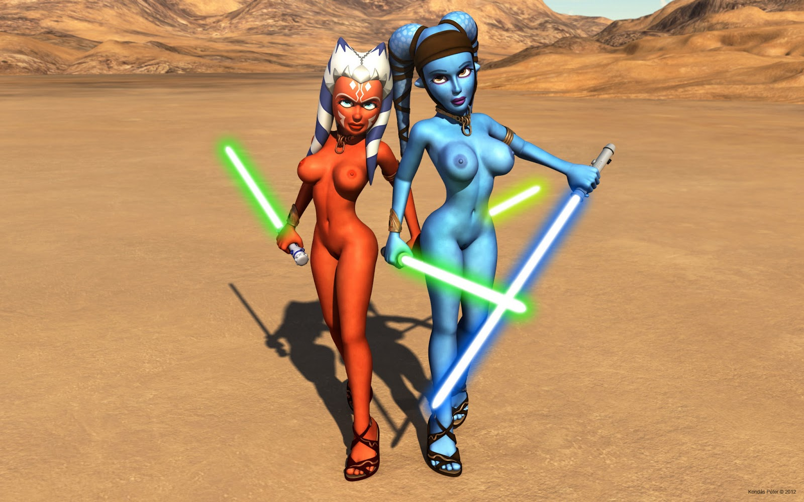Free star wars and a naked ahsoka  adult image