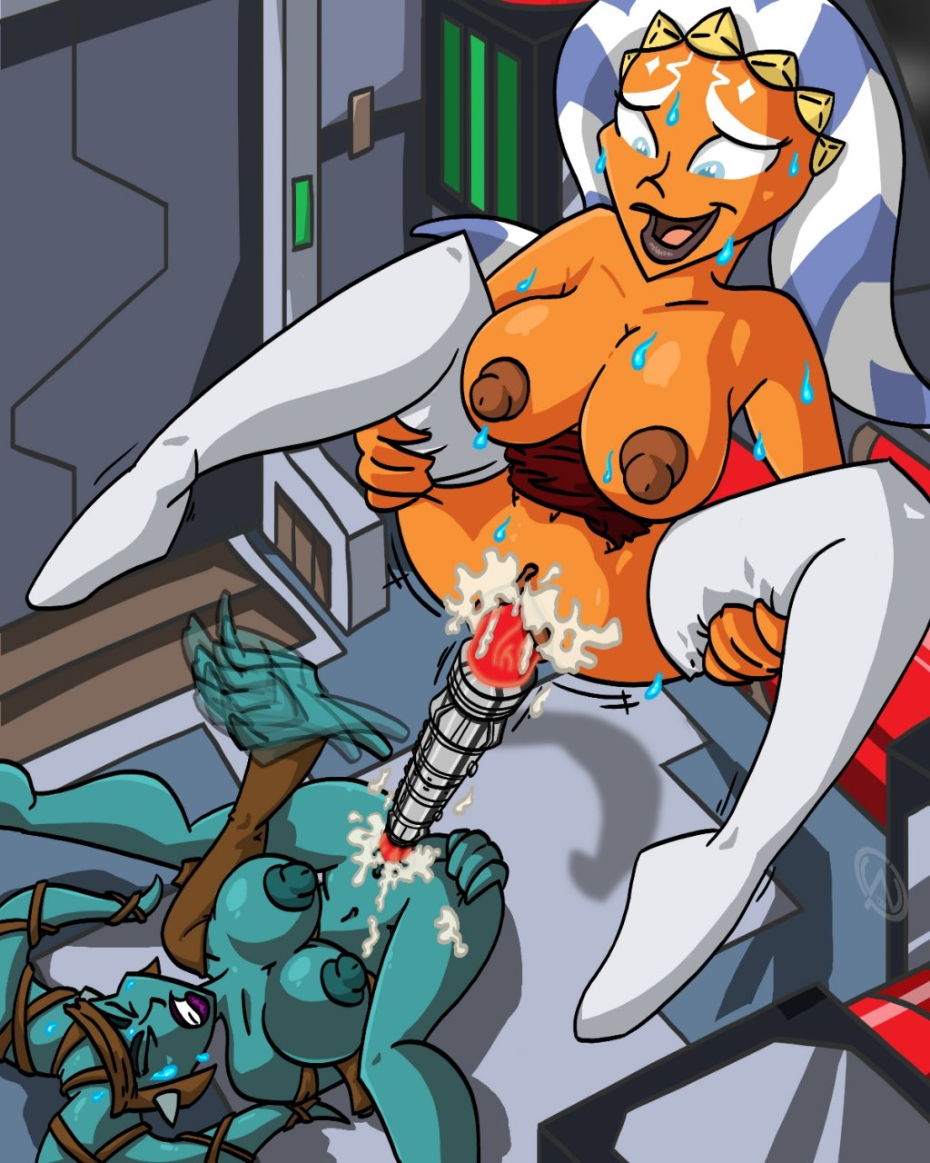 Ahsoka having sex cartoon classic virgin