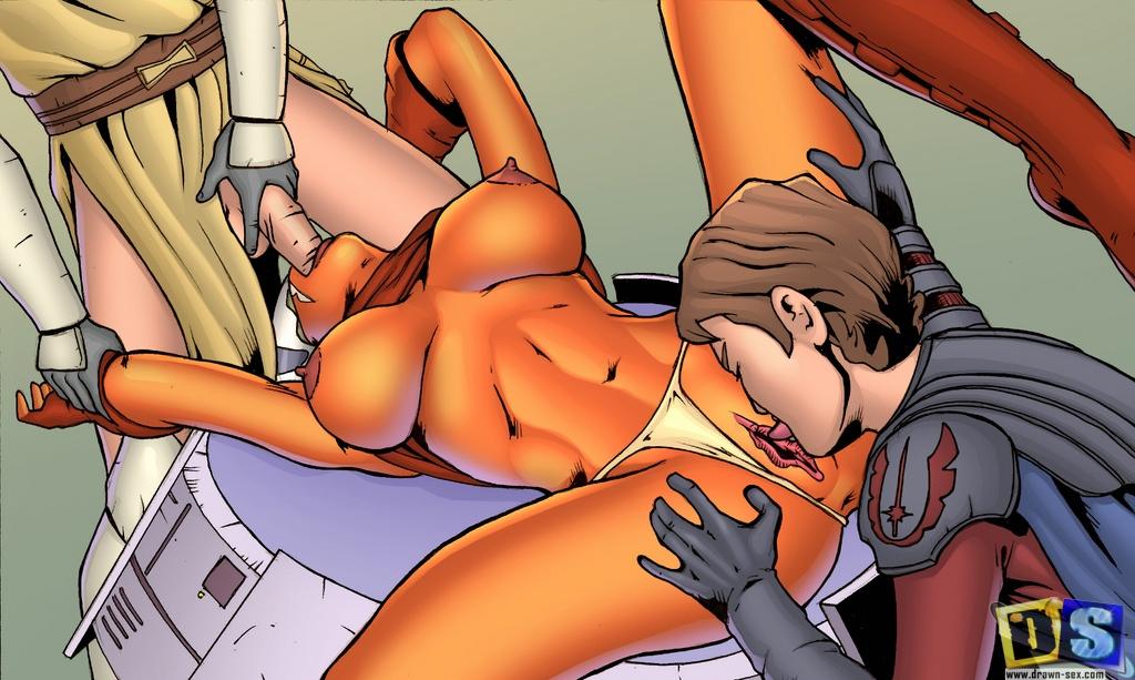порно мульты звездные воины