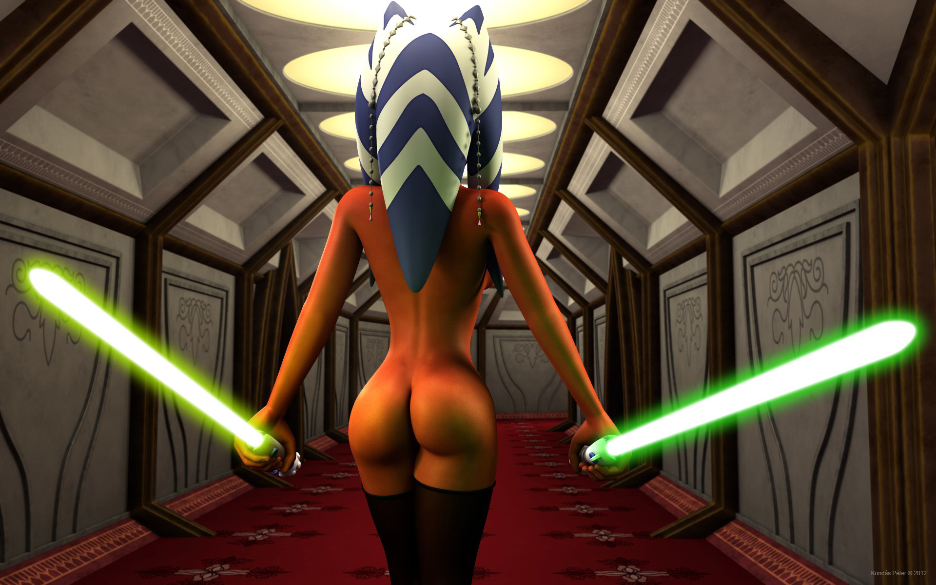 Star wars the clone wars naked anal xxx pic