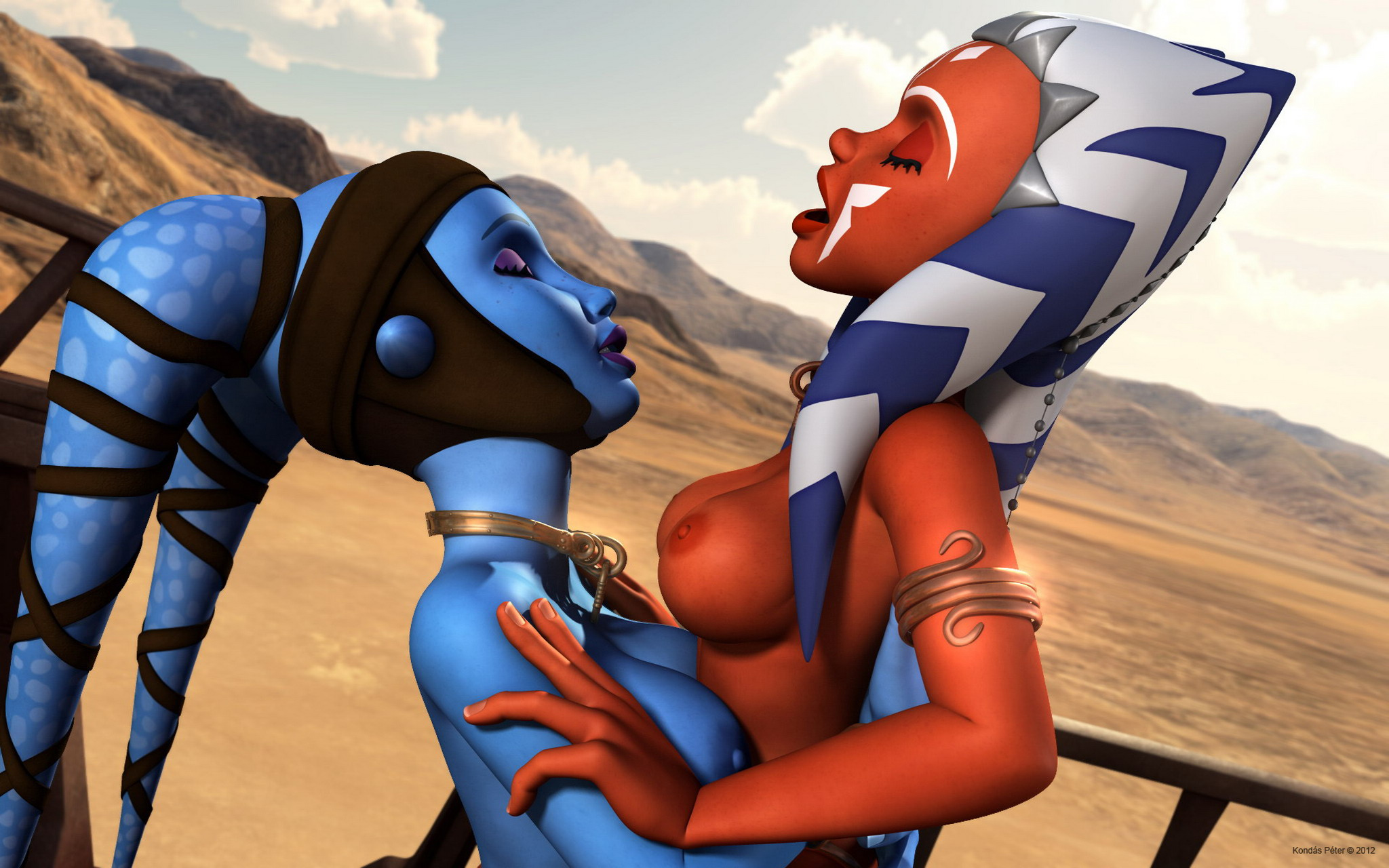 Ahsoka tano hot and naked porn video