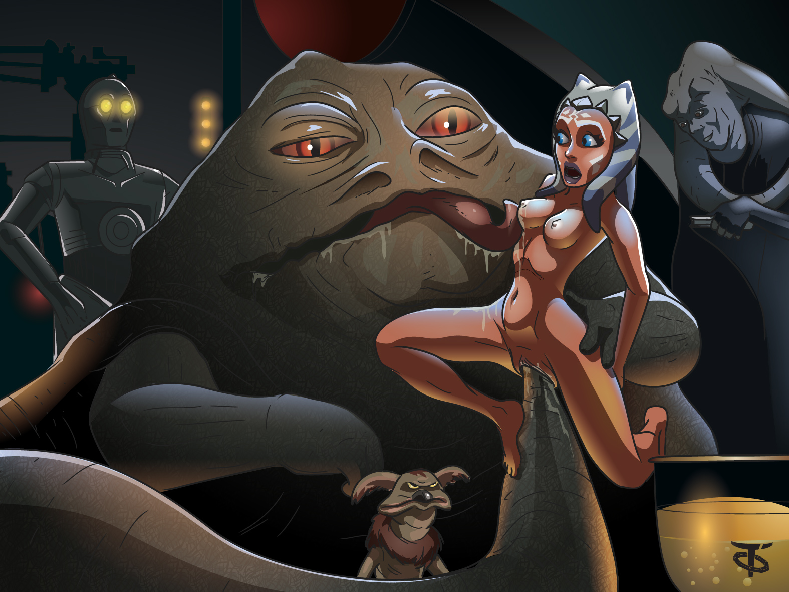 Ahsoka fucked by monsters images and pictures sex pictures