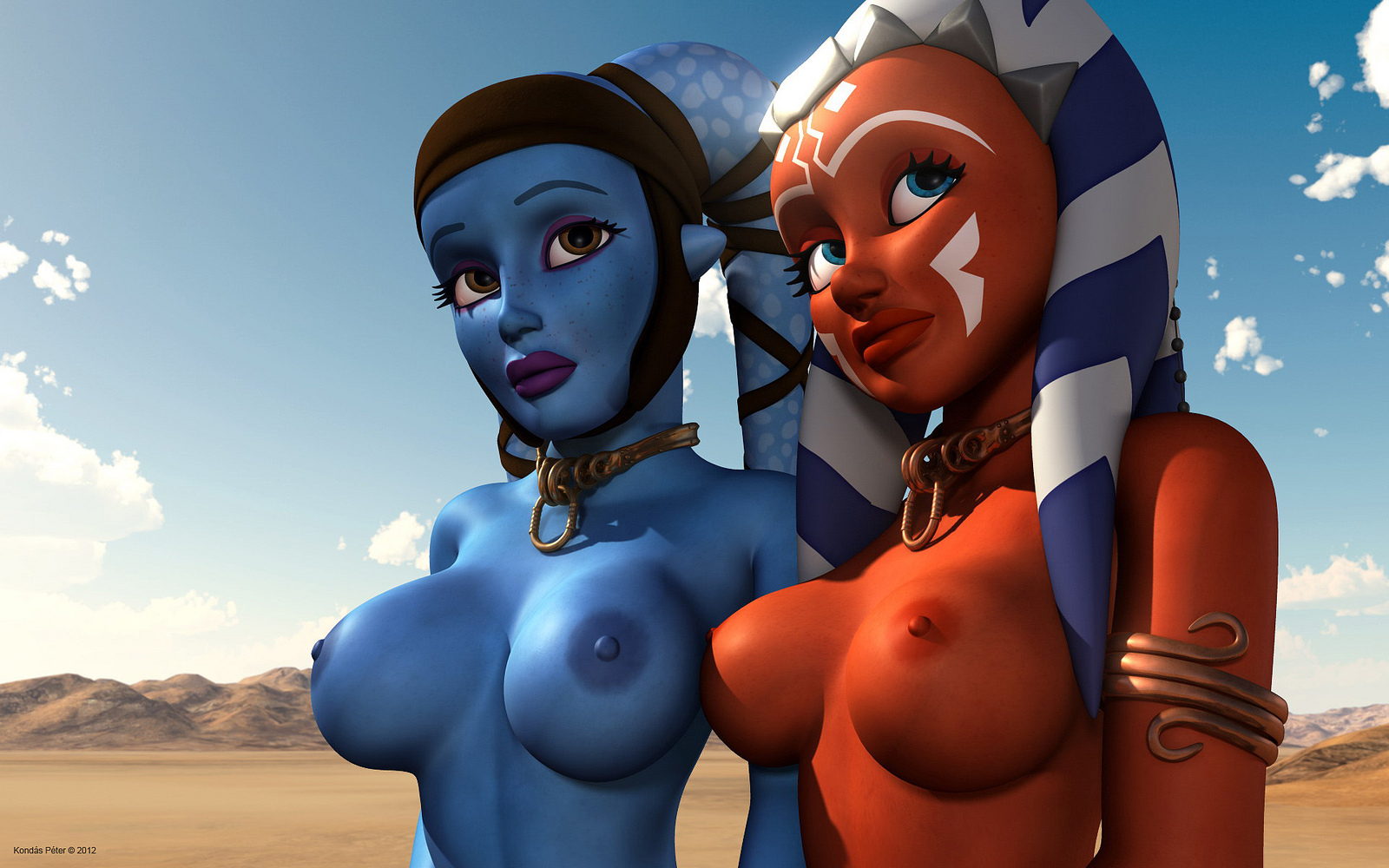 Ahsoka tano hot and naked sexy images