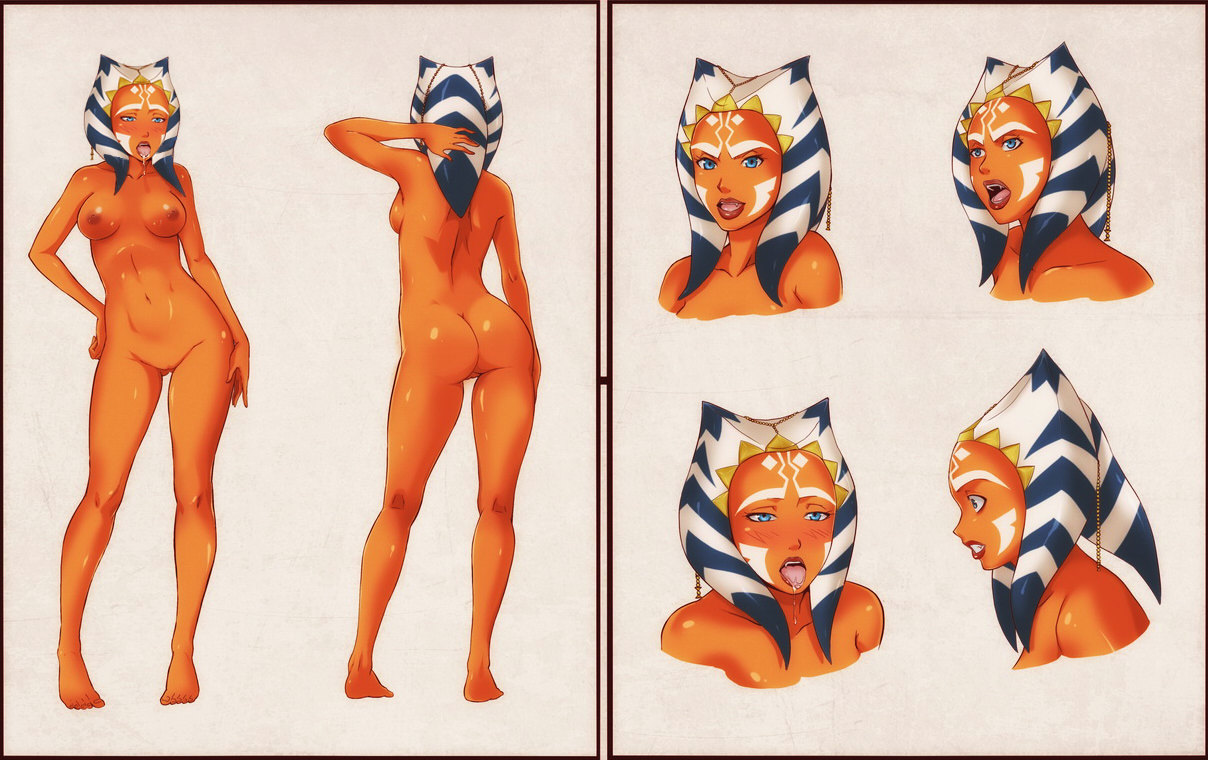 Star wars the clone wars ahsoka naked xxx pic