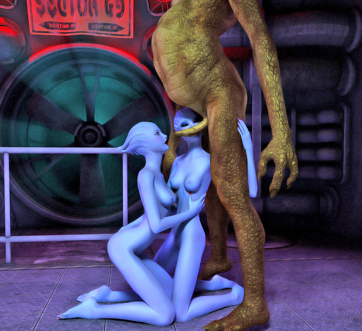 Alien whore hentay babes