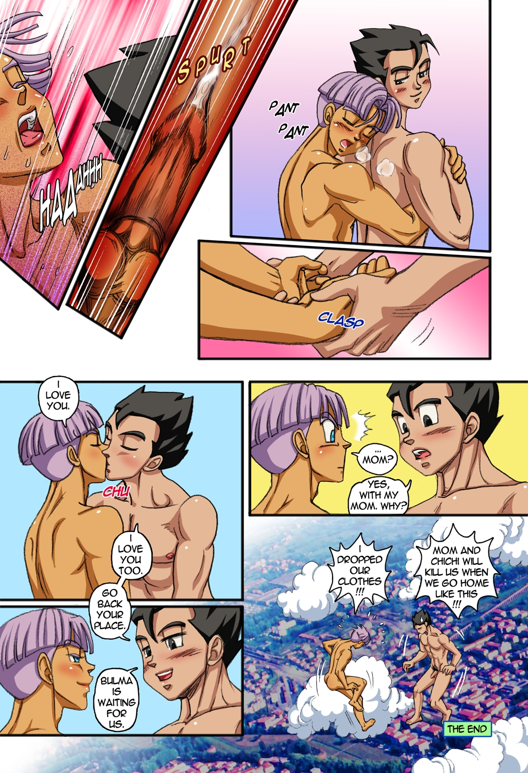 comic Gay porn cartoon yaoi