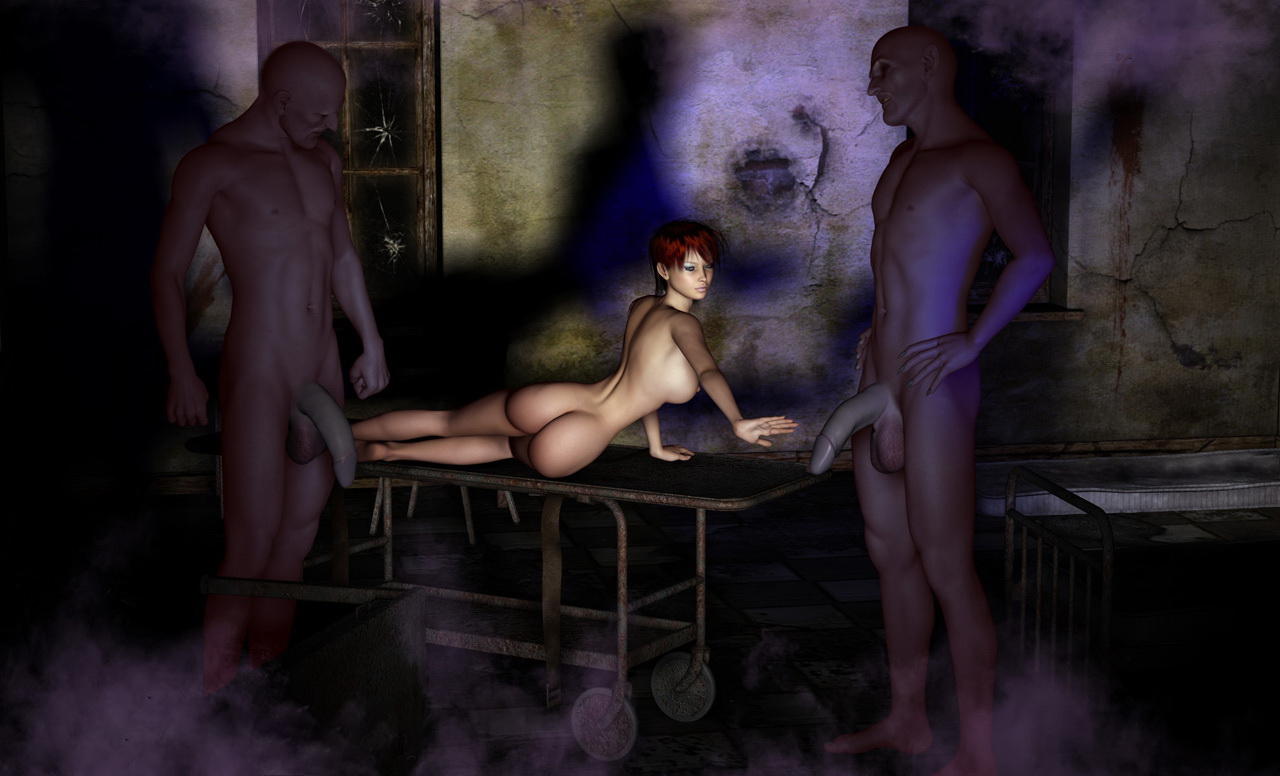 Naked zombie ladies nude scenes