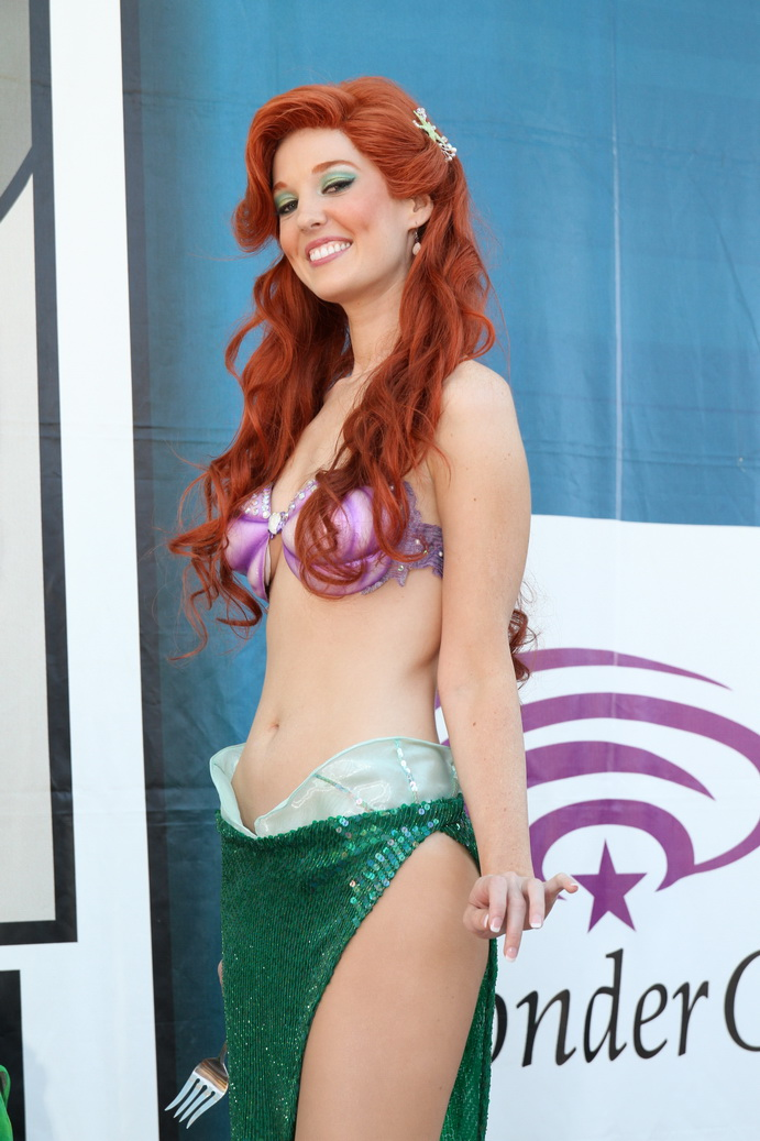 Ariel mermaid huge tits