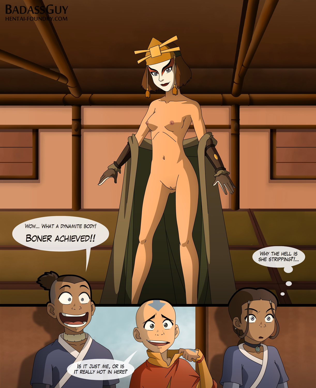 Thank for avatar the last airbender katara nude opinion