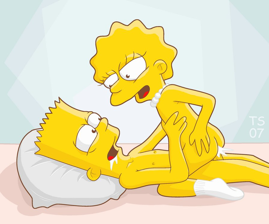 bart and lisa sex tape