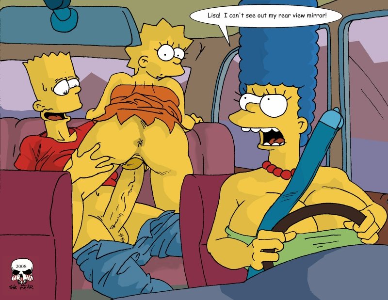 porn fear comics Simpsons