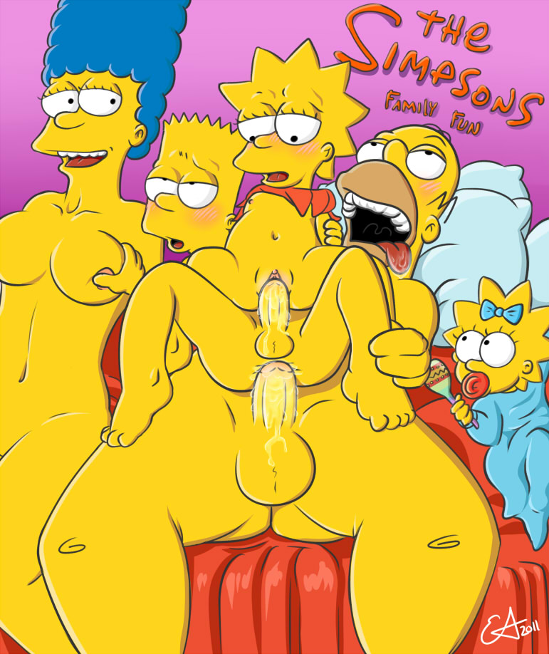 And Lisa Simpson Porn Simpsons Marge Homer Bart Maggie