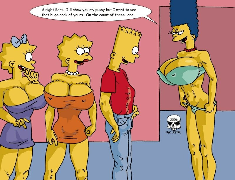 Bart lisa simpson cartoon porn