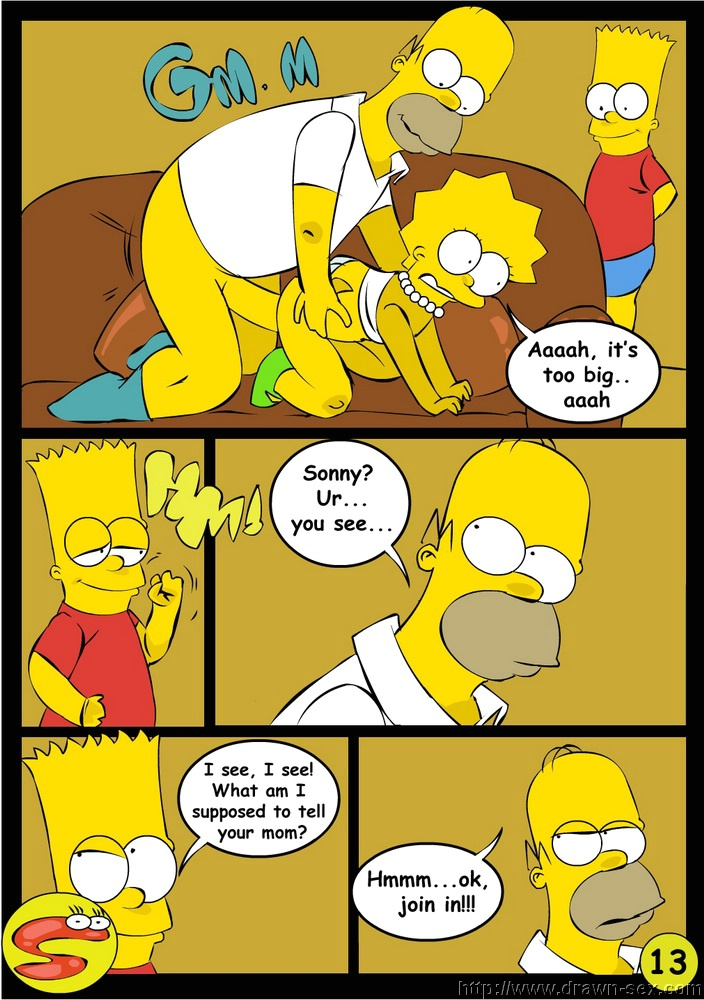 Bart and lisa sex cartoon