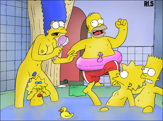 Porn Simpsons Marge Simpson Homer Lisa Bart Maggie Sora Restless Foe