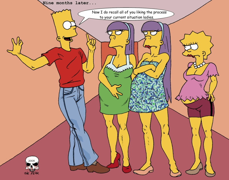 Lisa simpson porn fear comic