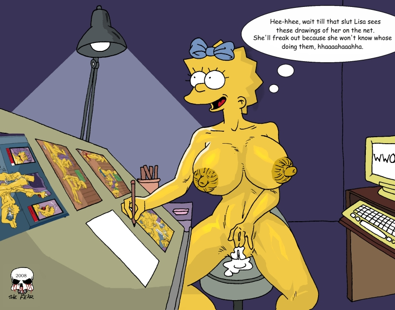 The simpsons porn comic Bart And Lisa Simpson Porn Simpsons Comic Simpson Lisa Bart Fear ...