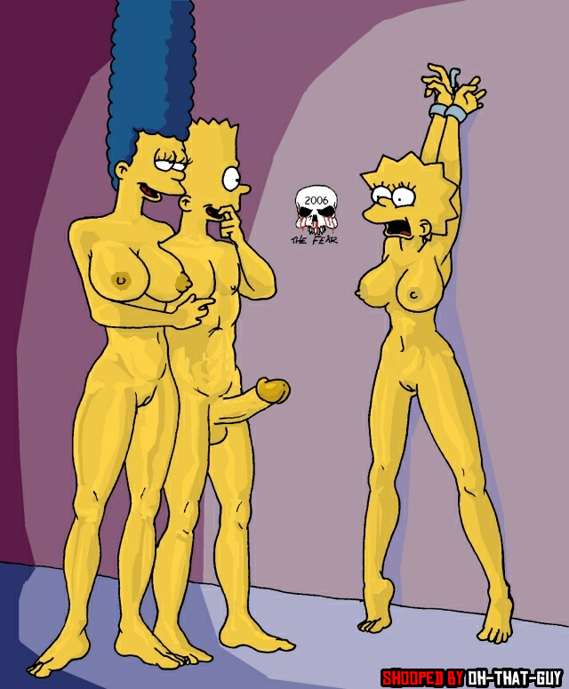 bart and marge fuck porn simpsons marge simpson lisa bart fear daa