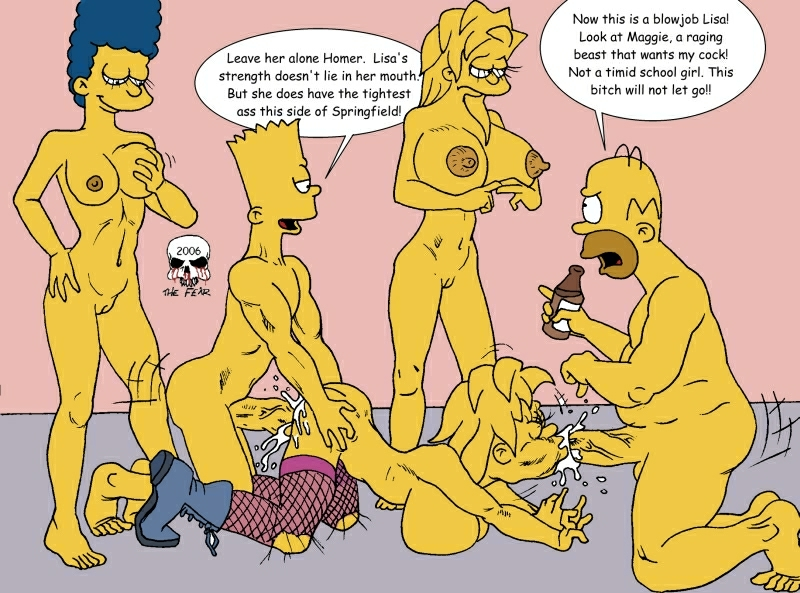 Are not The simpsons naked having hard sex talk