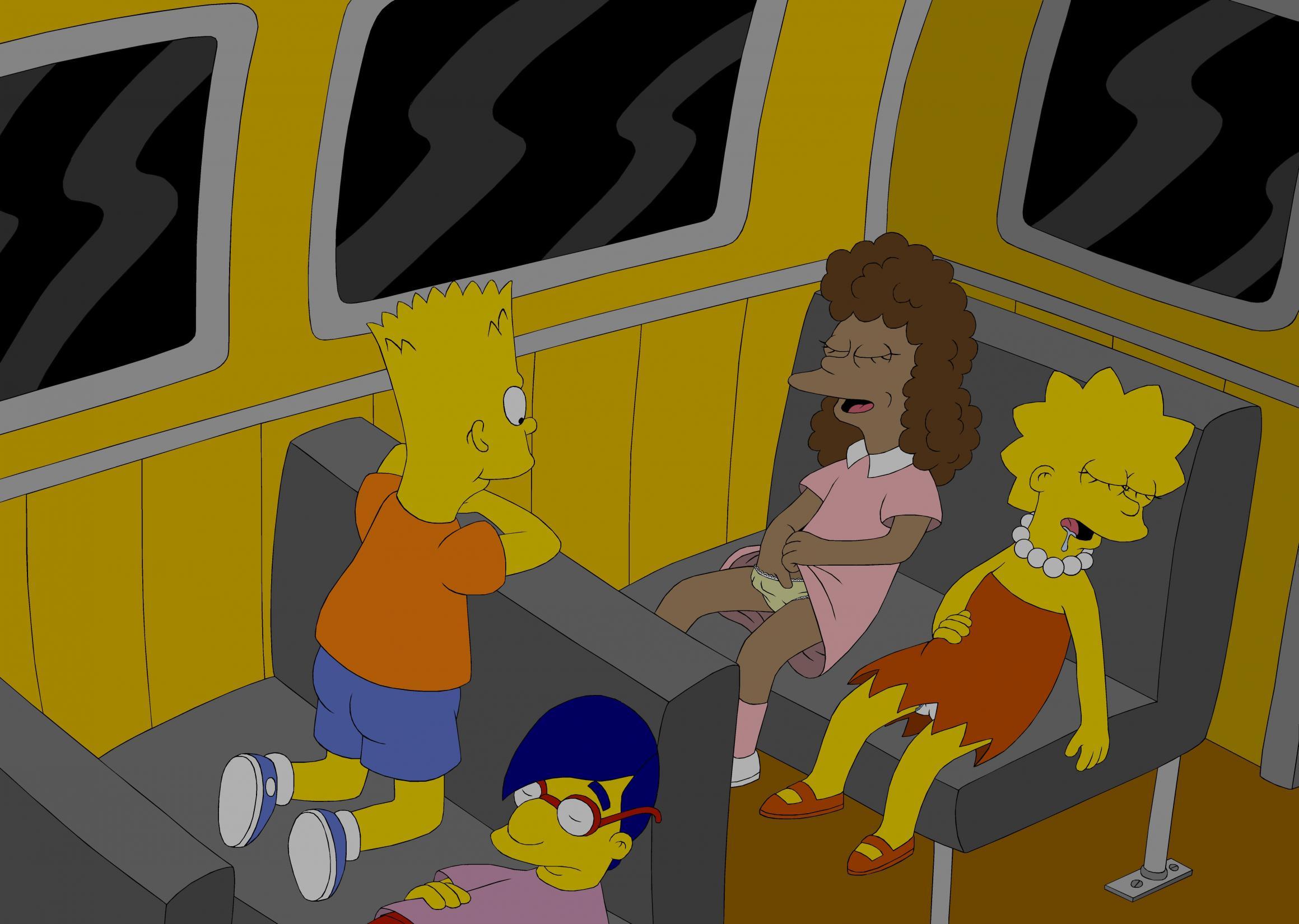 milehouse Simpsons xxx bart