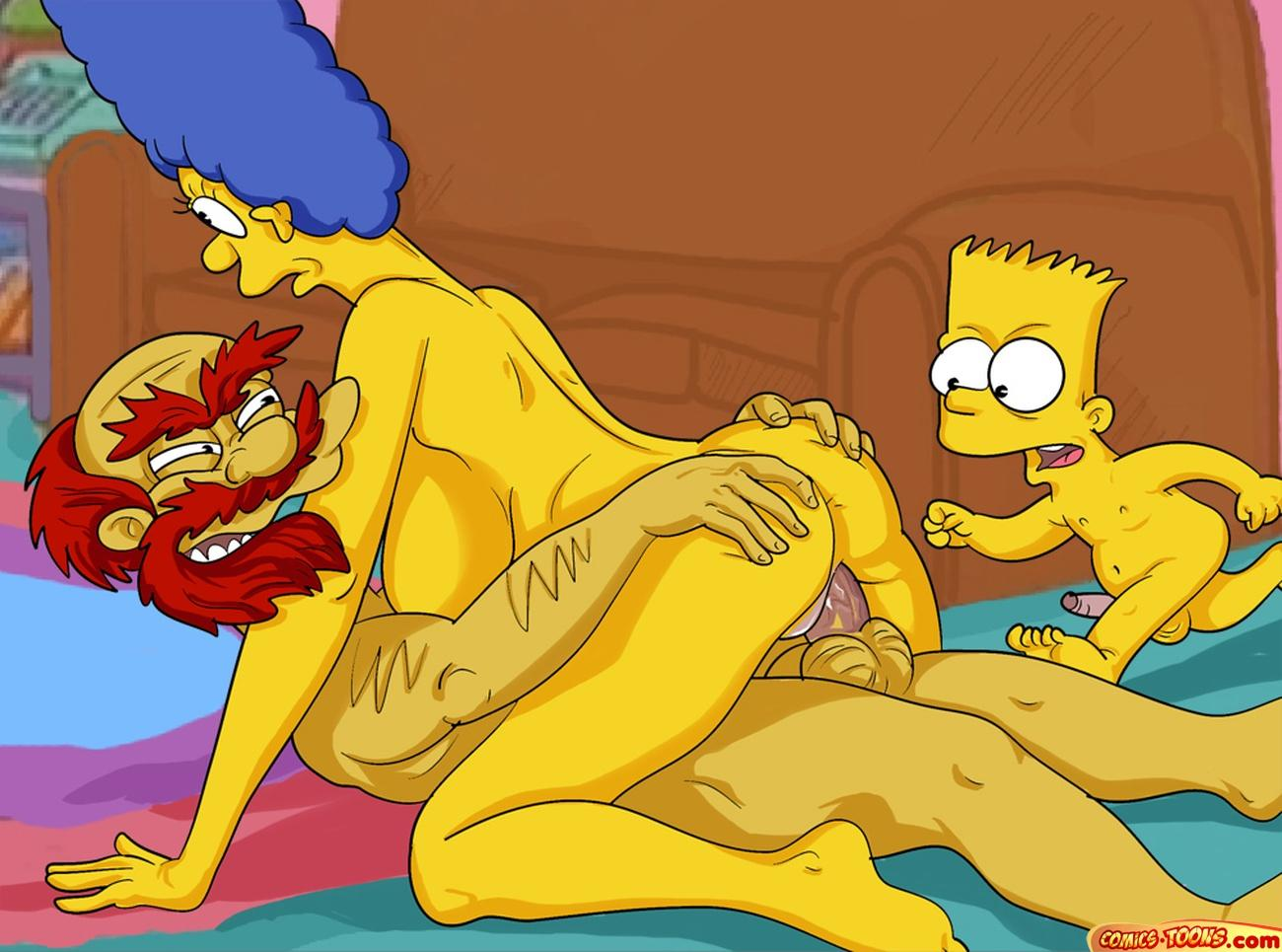 free cartoon pussy simpsons commode aptitude