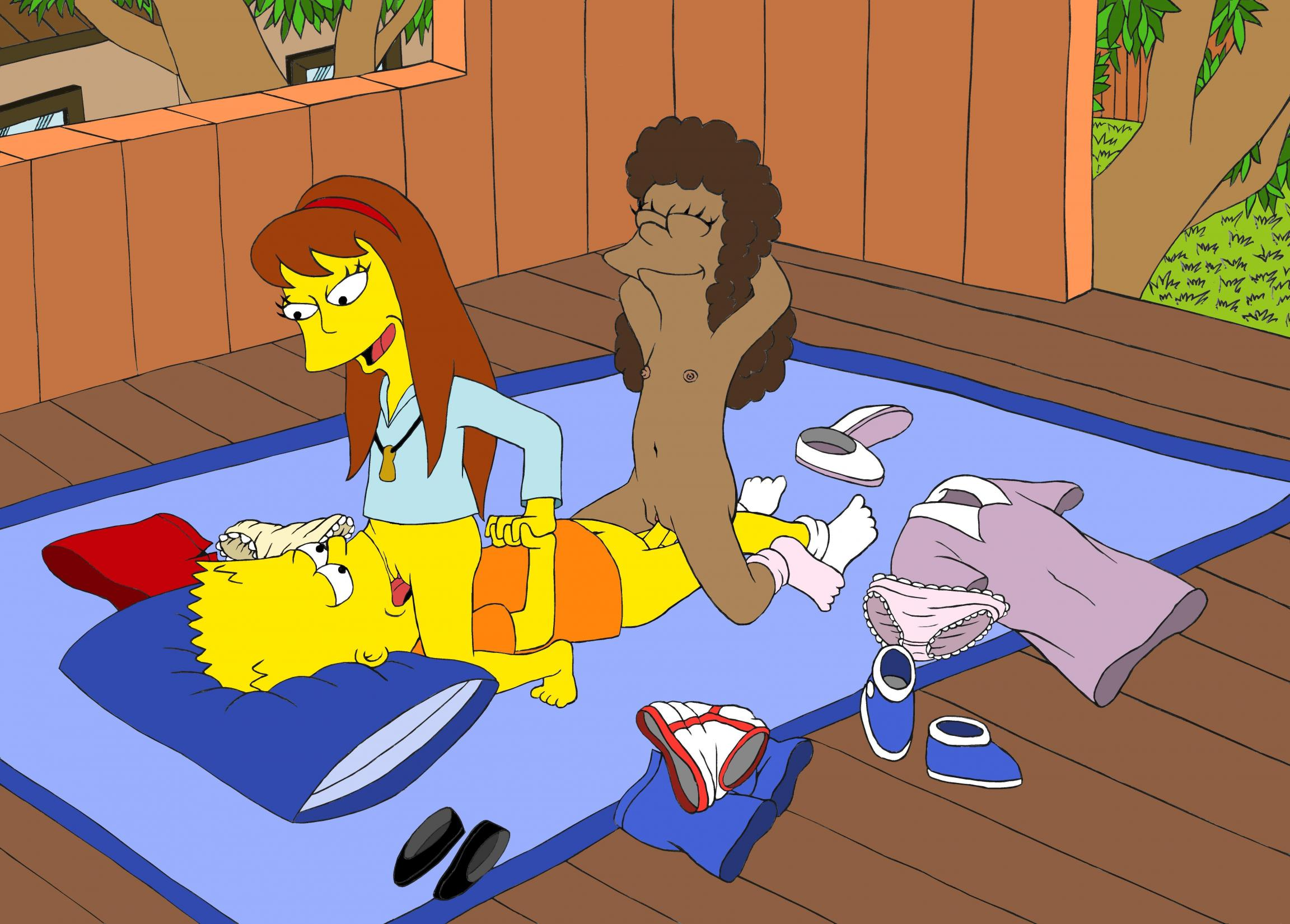 The simpsons allison and lisa porn are