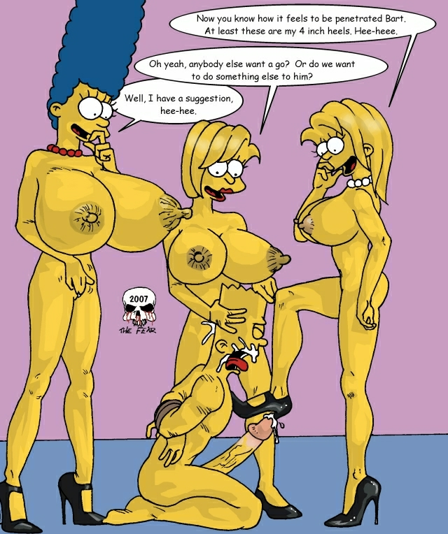 bart simpson porn porn simpsons parody presents marge simpson lisa bart naked fear maggie cinderella