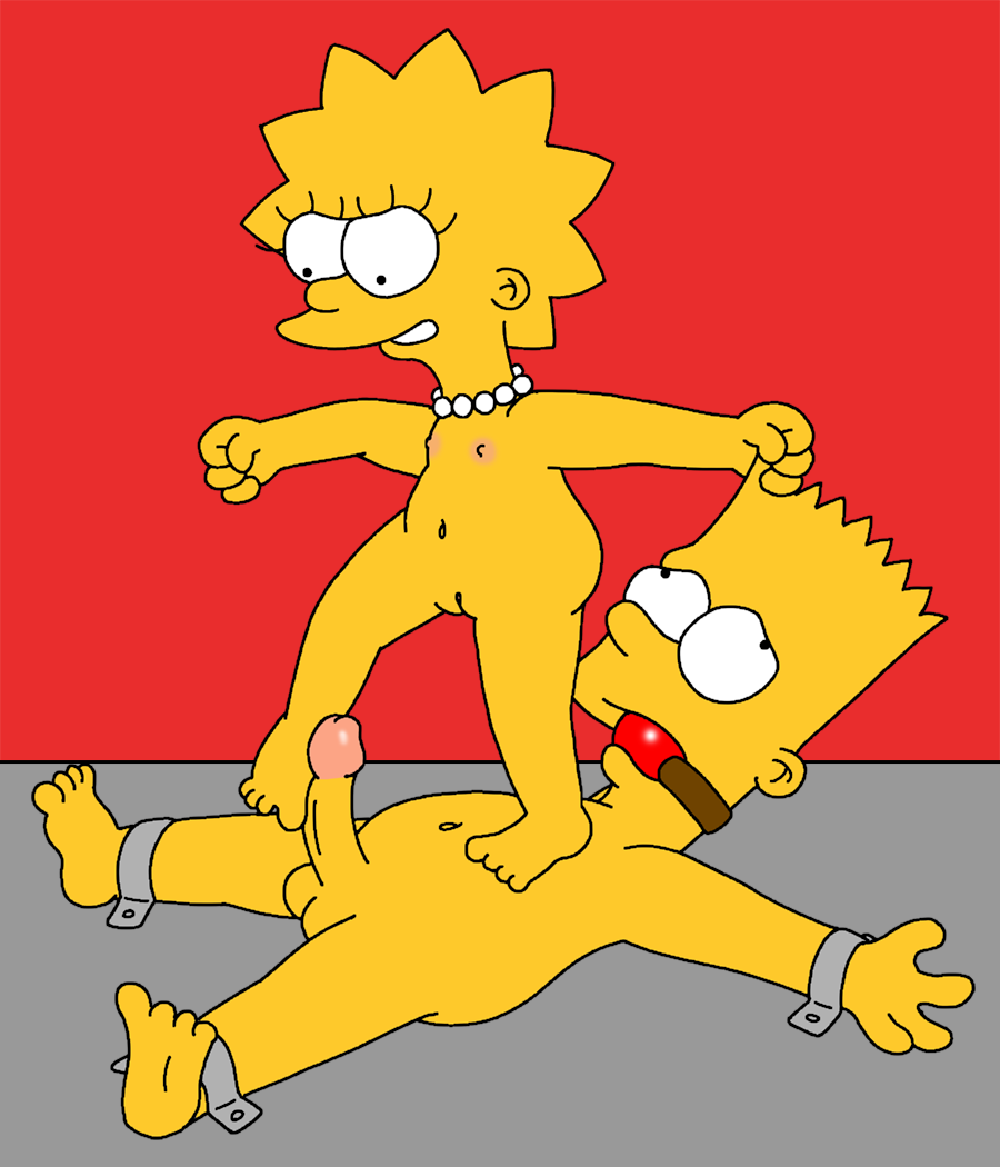Bart and lisa anal