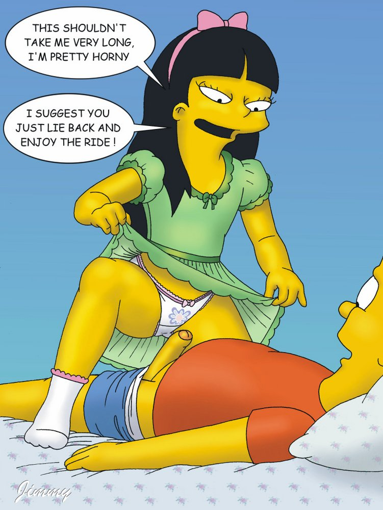 Bart Simpson Porn Simpsons Cartoon Picture Jessica From