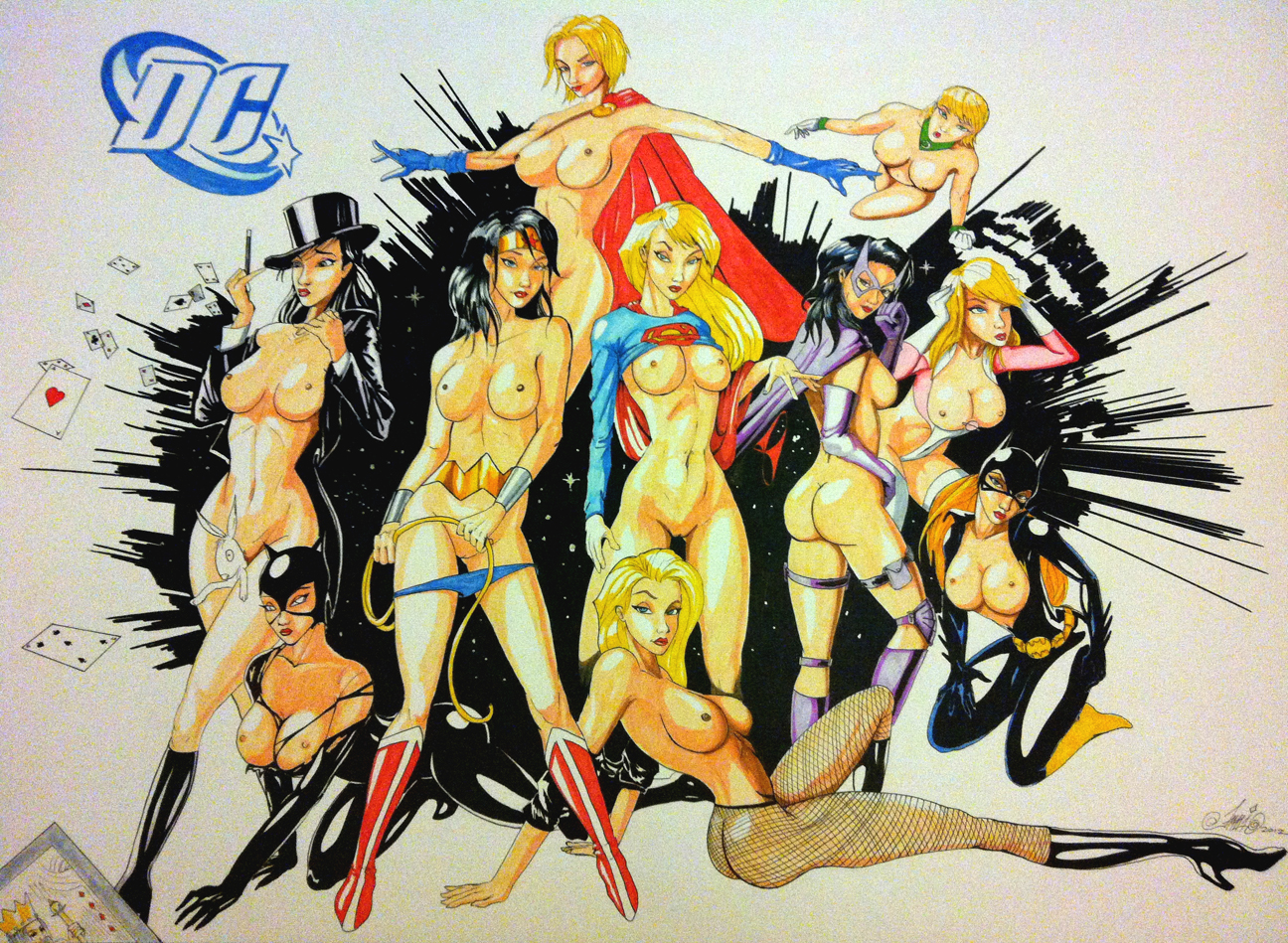 Dc universe versiГіn hentai erotic video