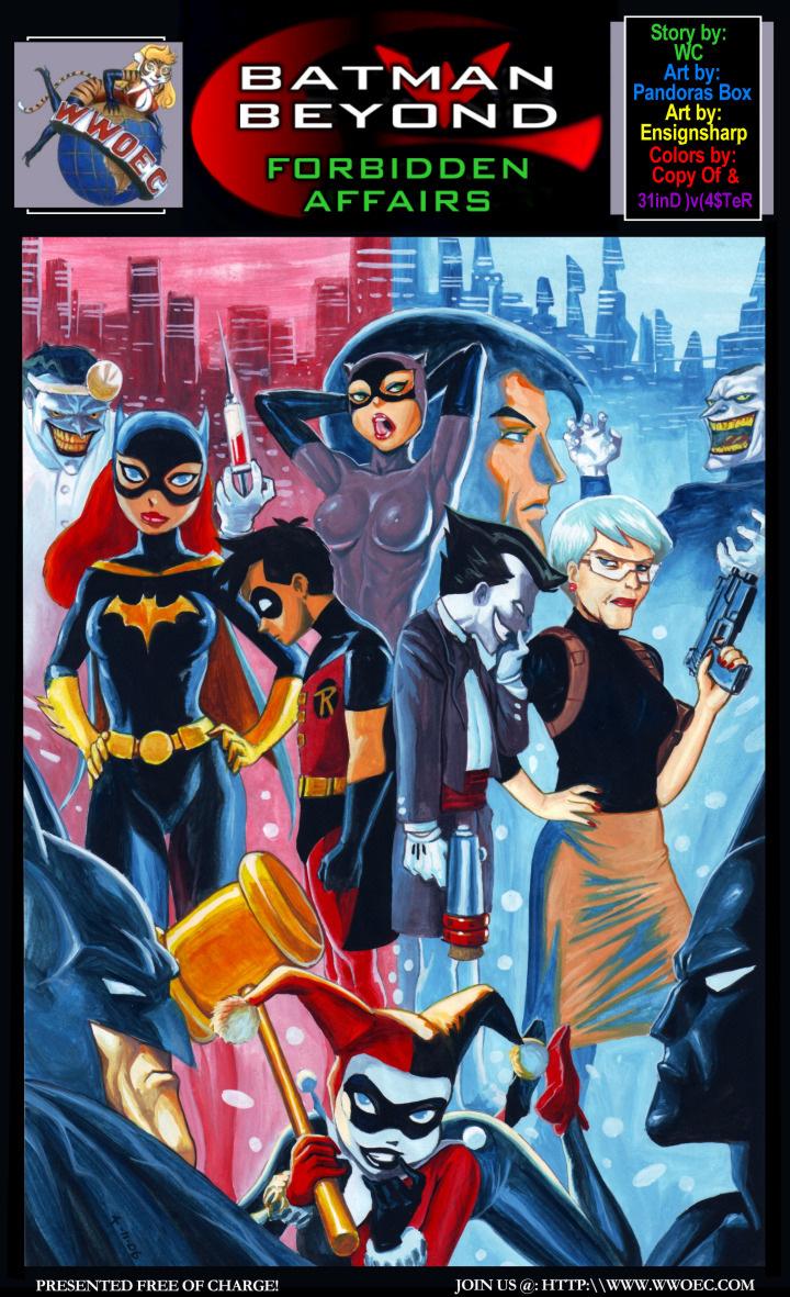 Batman Cartoon Porn Comics image #130155.