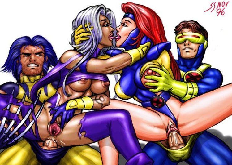 Фото секс супергероев