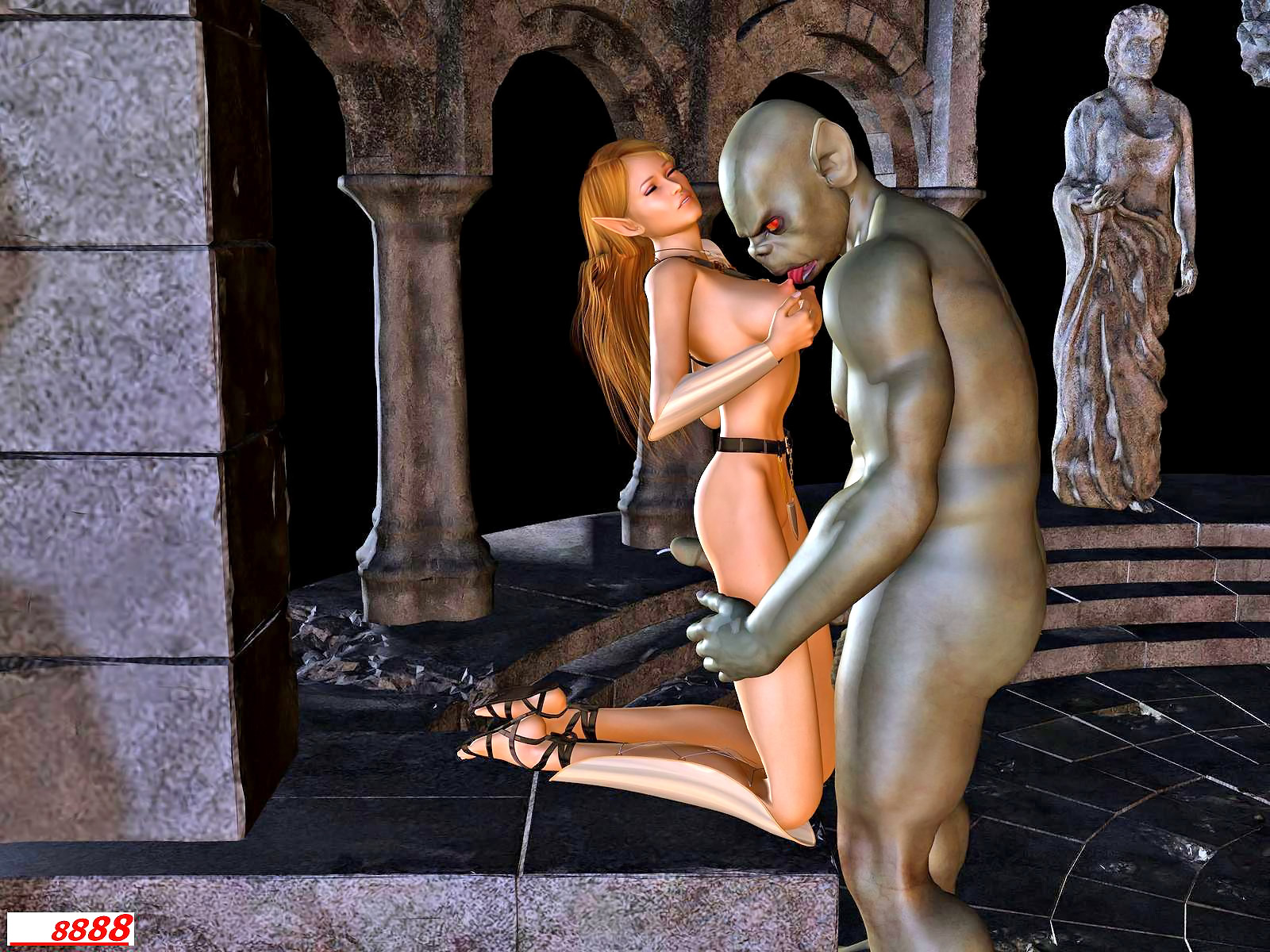Cartoon porn orc bang elf sexy photo