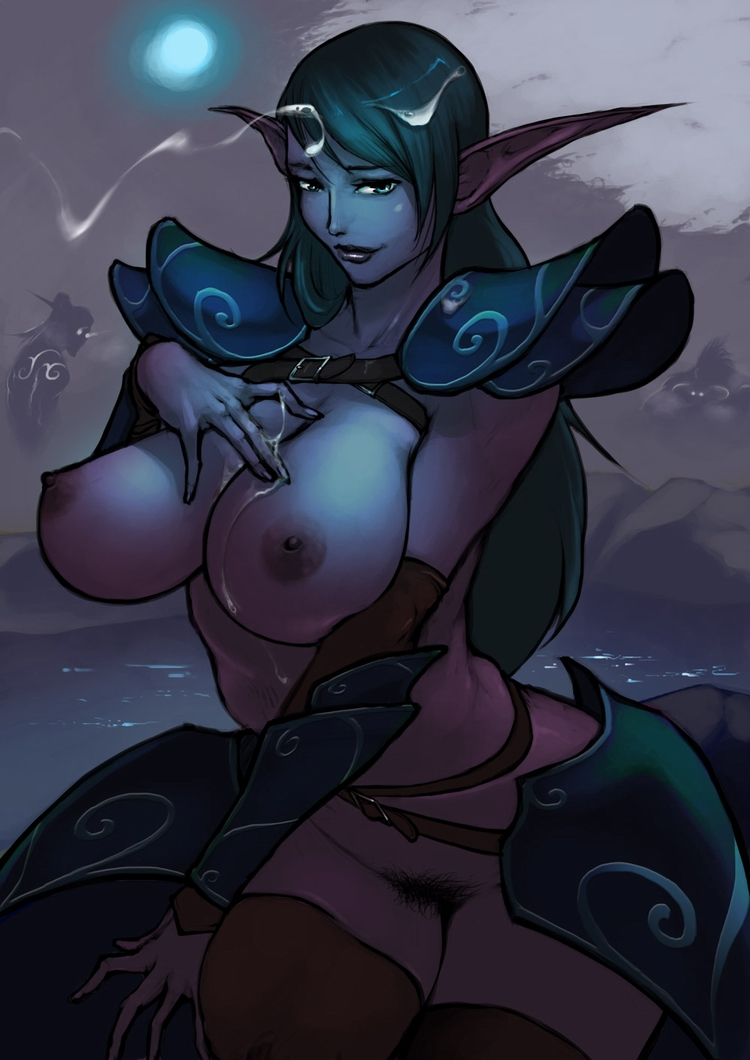 Female trolls blowjobs male night elf hentai film