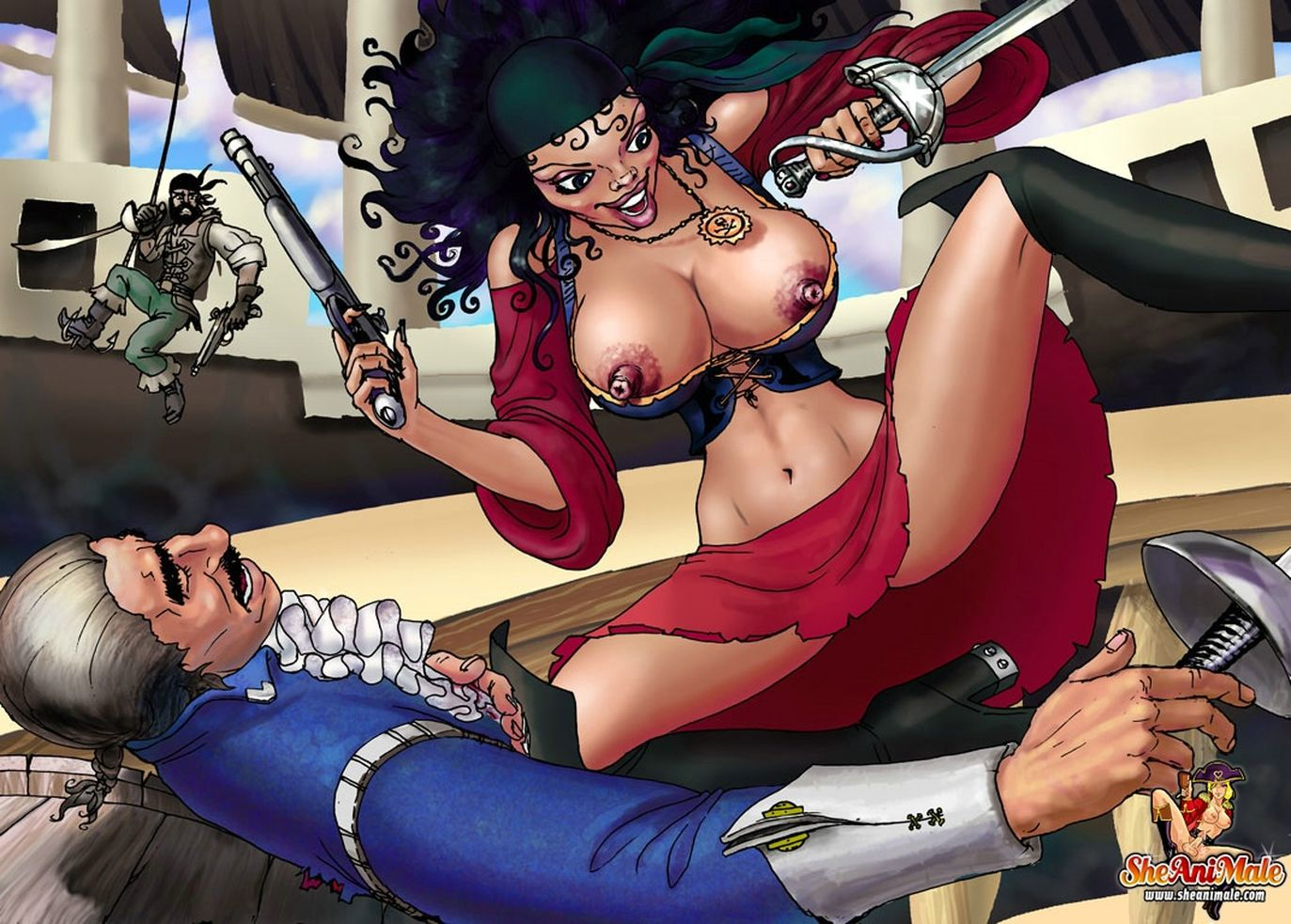 Xxx pirate film fucking pictures hentai girls