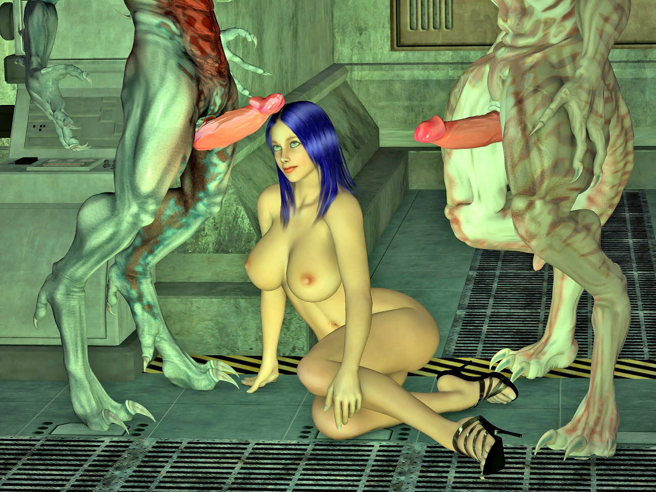Alien sex monsters nackt galleries