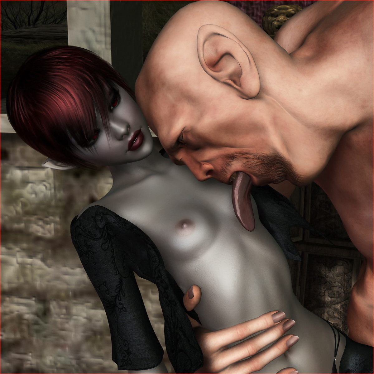 Free 3d cg porn images of hot  exploited scene