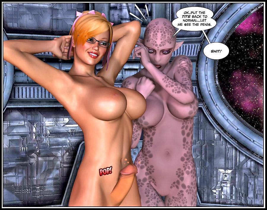 Порно комиксы трансы 3d