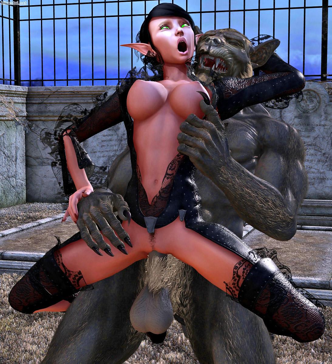 Alien fucks girl porn clip