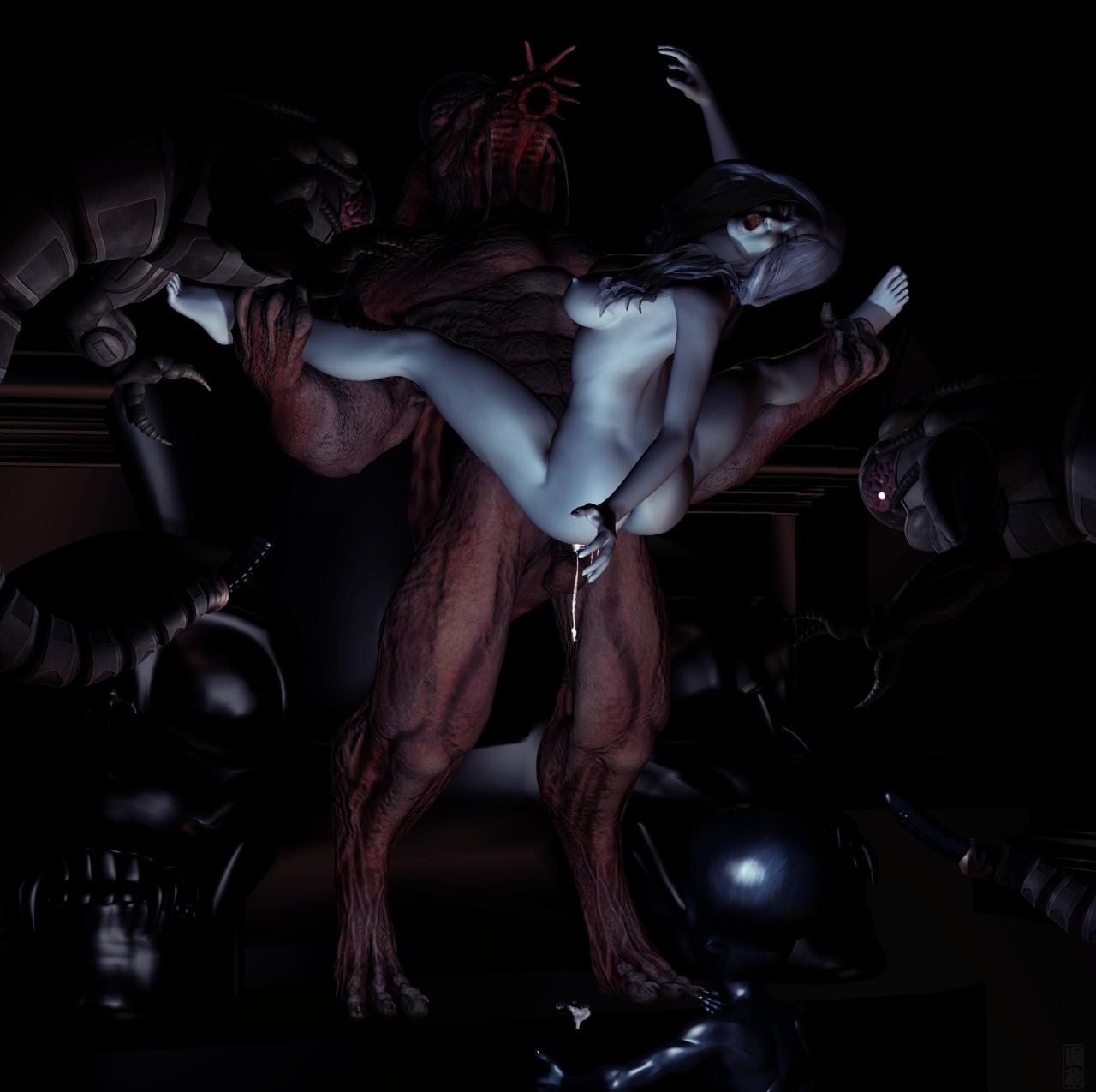 Alien xxx moster hentia image