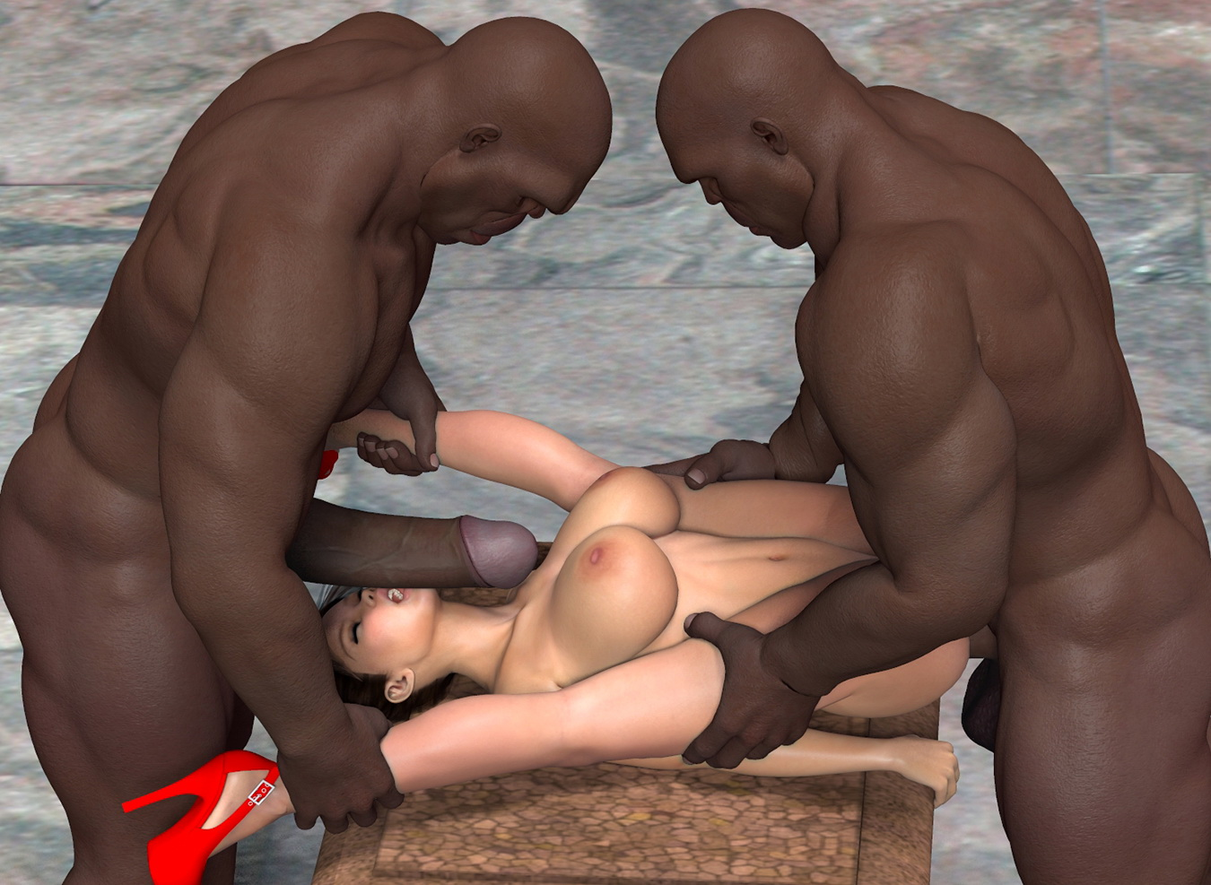 3d female aliens fucking big cocks 7