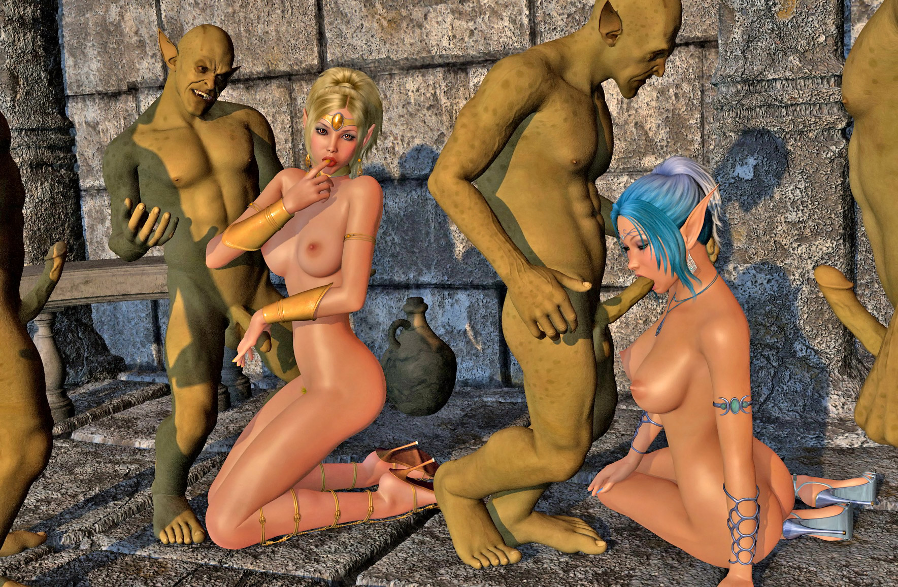 Cartoon elf porn galleries sexual comics
