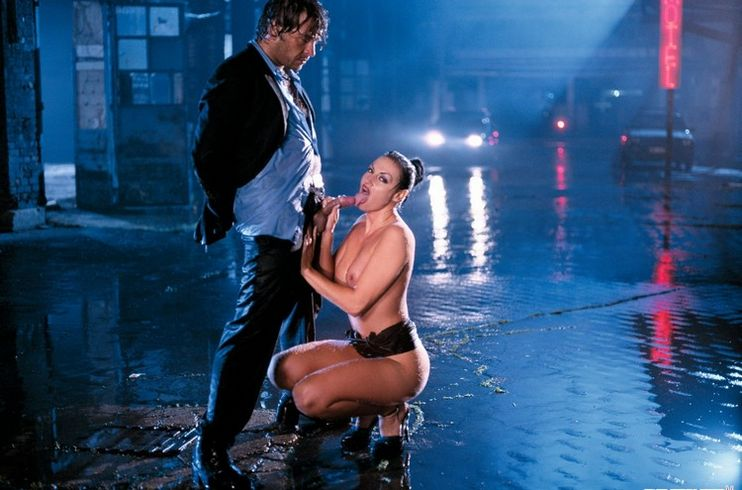 Секс под дождем порно