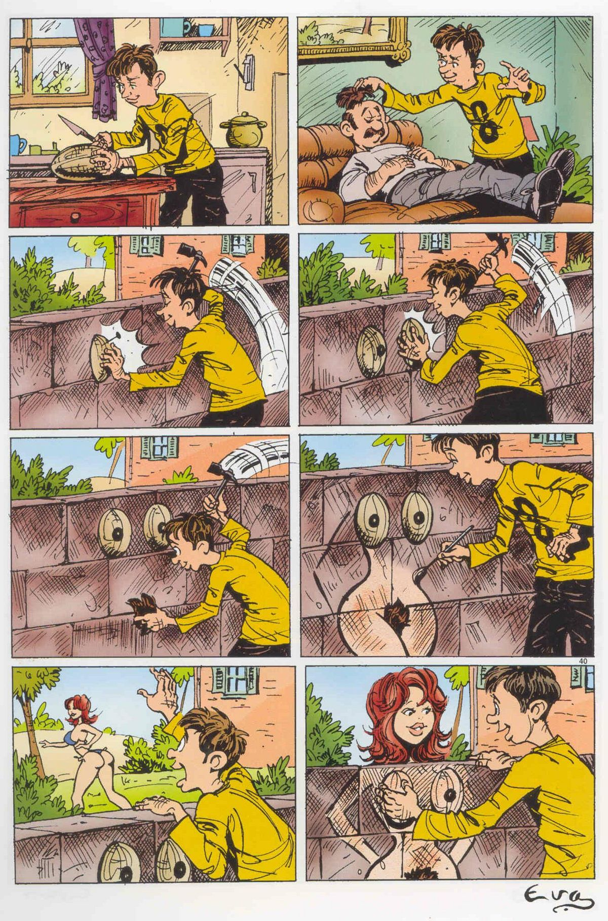 Эротиеские комиксы для взрослых 11 фотография
