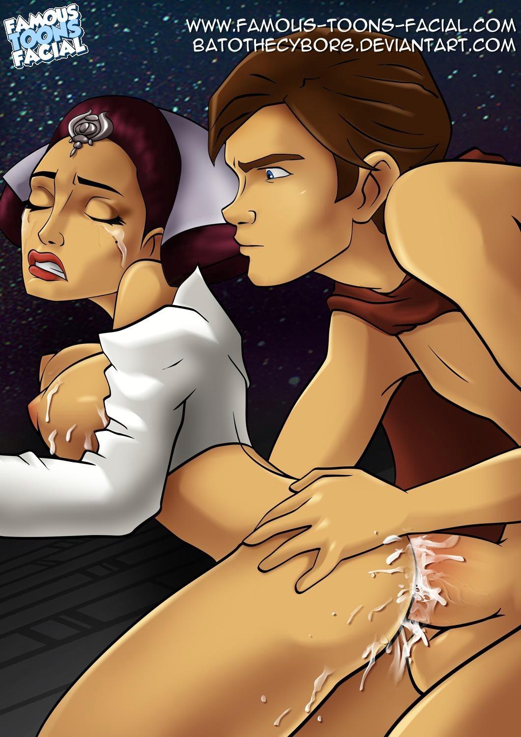 Hot naked star wars cartoon girl having  sex images